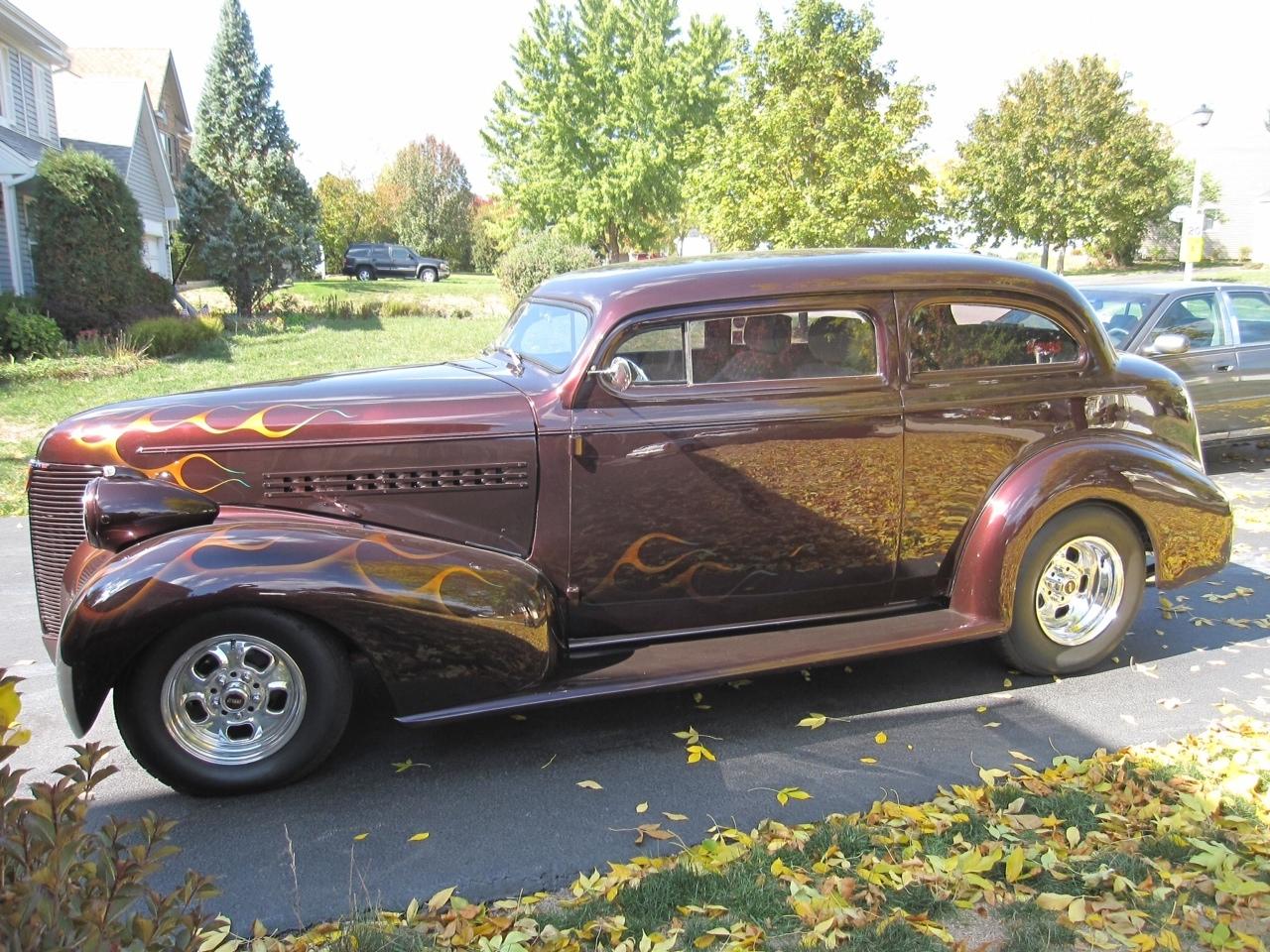 Hot rod inspirations hotrod hotline for 1939 chevy 2 door sedan for sale