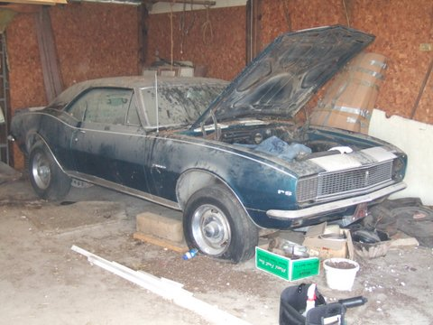 Barn Find Old Muscle Cars