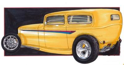 Kindig It Design Logo >> Goodguys '32 Redux Grand Prize Giveaway Car Underway at Kin Dig-It Design | Hotrod Hotline