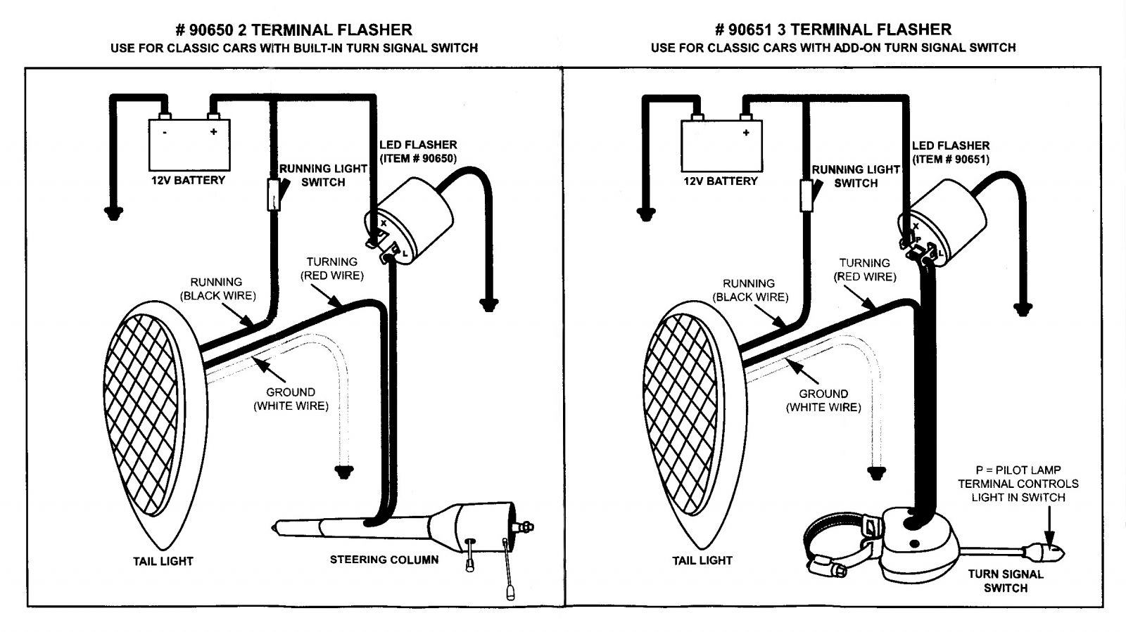 led tailights hotrod hotline led panel diagram