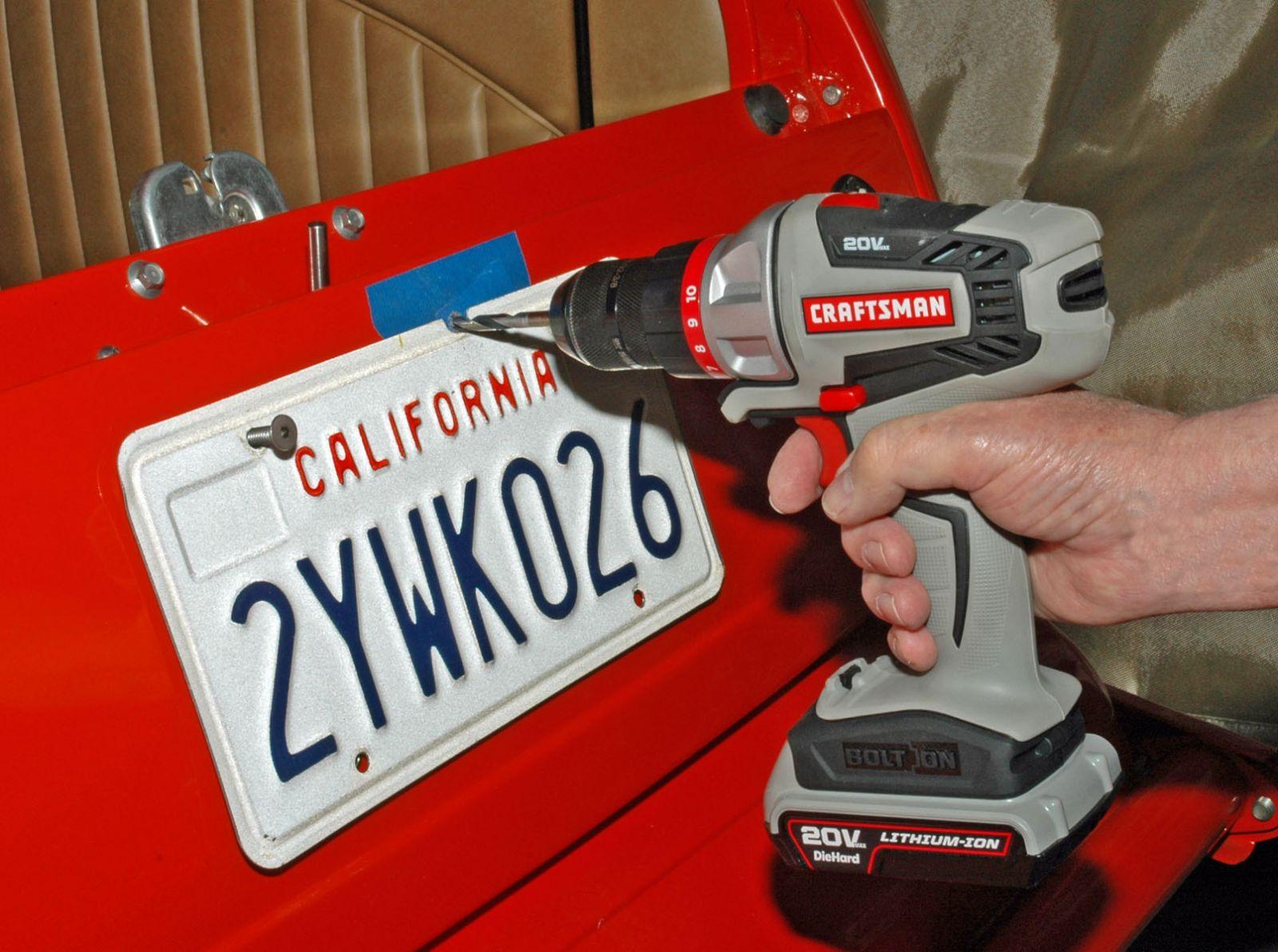 License Plate Lights, Third Brake Lights and Frames   Hotrod Hotline