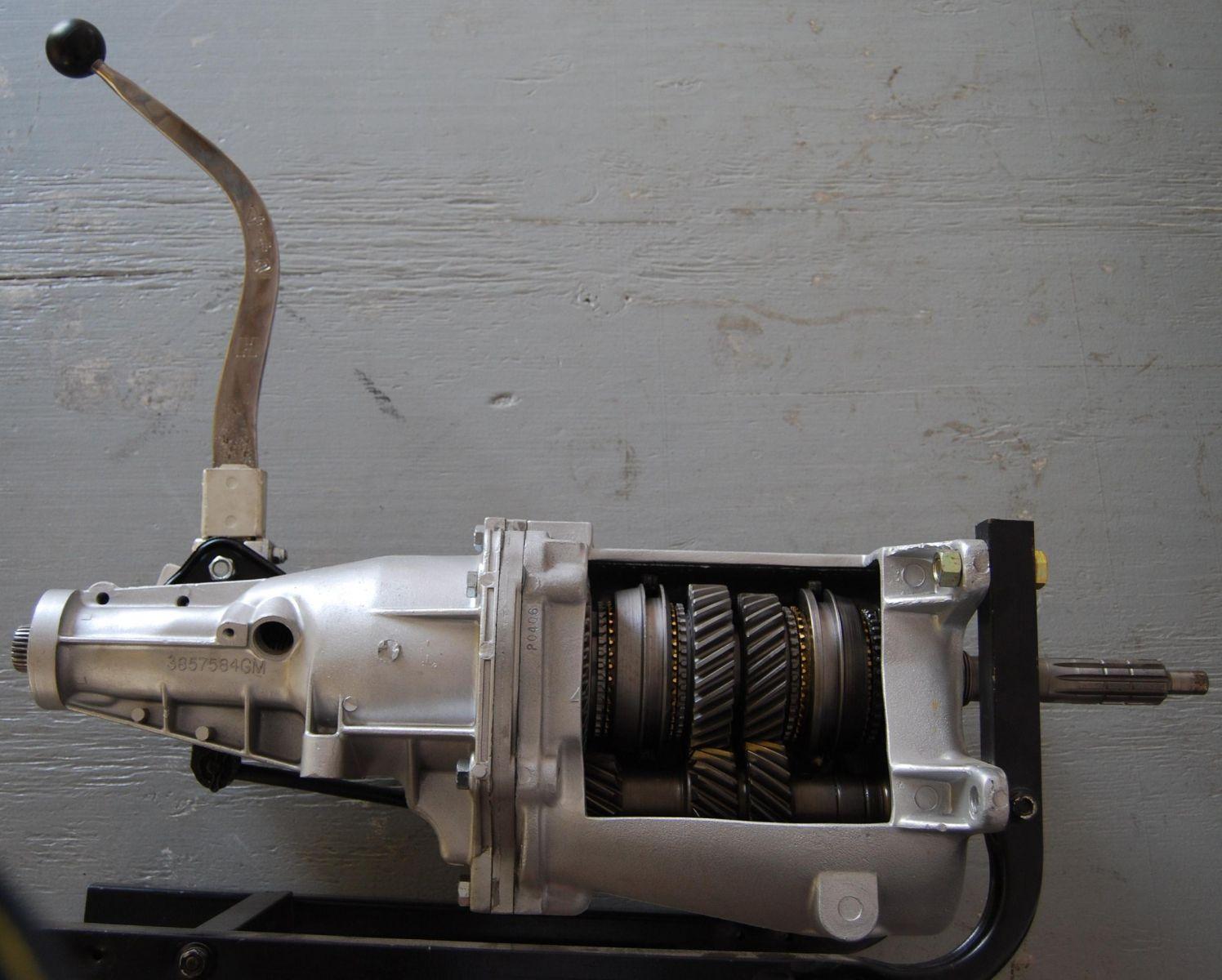 muncie m21 4 speed transmission