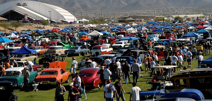 Goodguys Celebrate Th Anniversary Event Season With Scottsdale - Westworld scottsdale car show