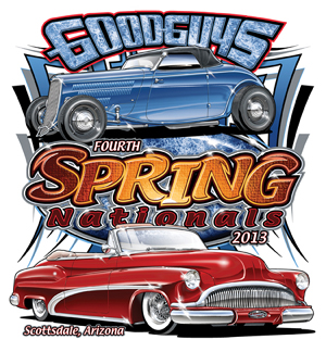 Goodguys Celebrate Th Anniversary Event Season With Scottsdale - When is the good guys car show in scottsdale