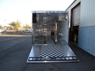 Bms Navigo Custom Enclosed Trailers Hotrod Hotline
