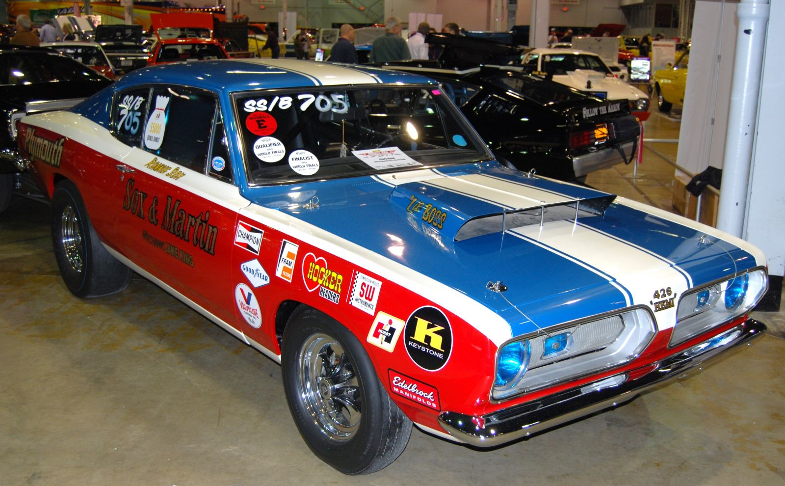 Real Deal Sox & Martin Super Stock Hemi Barracuda | Hotrod Hotline