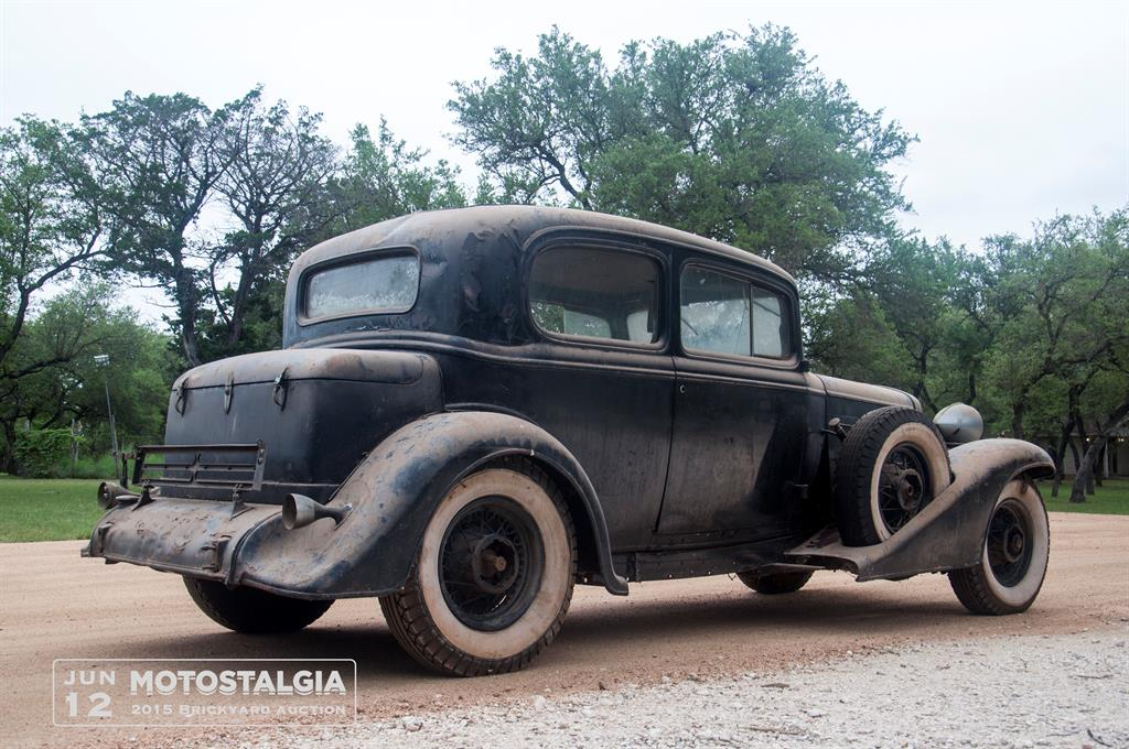 The Second Cadillac Is A 1933 V12 Town Coupe That All Original But Has 1932 Trunk Making It Even Rarer Early 30s Were Rough Time In US