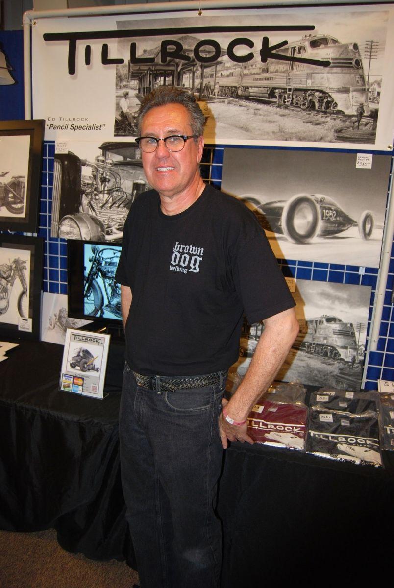 Ed Tillrock Is A Hot Rod Pencil Artist Hotrod Hotline