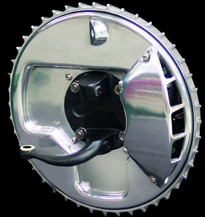 O Brien Truckers Buick Finned Disc Brake Covers Hotrod