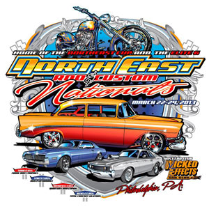 NorthEast Rod And Custom Car Show Nationals Just Weeks Away - Car show t shirts