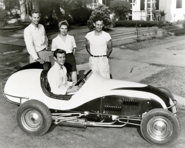 Kurtis kraft midget race car