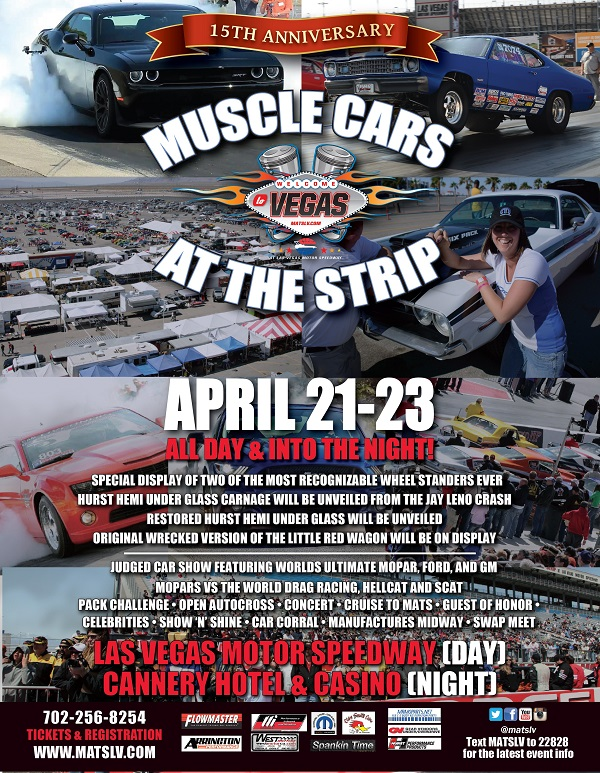15th Anniversary Muscle Cars At The Strip Hotrod Hotline