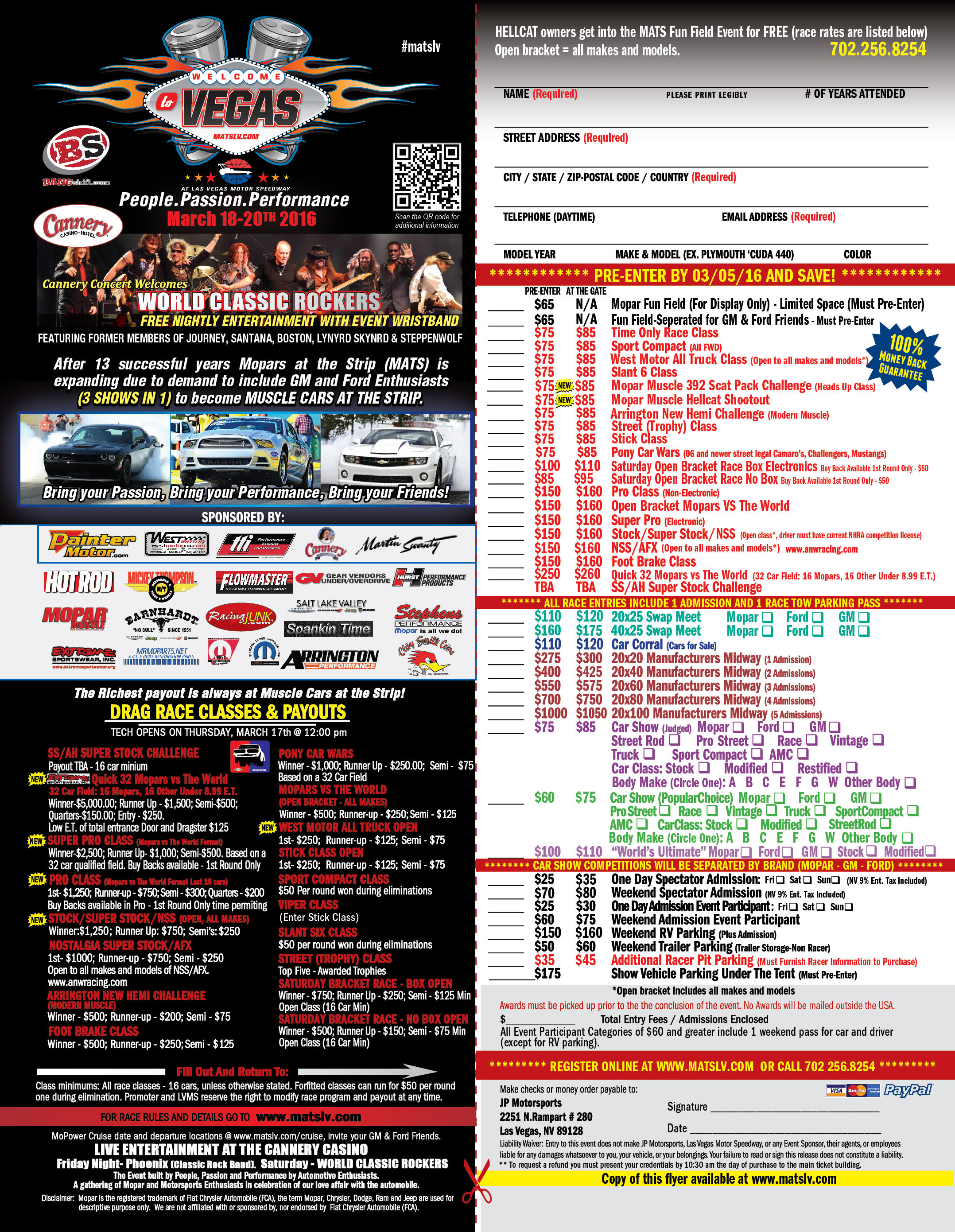 Muscle Cars At The Strip Hotrod Hotline - Fun car show award categories