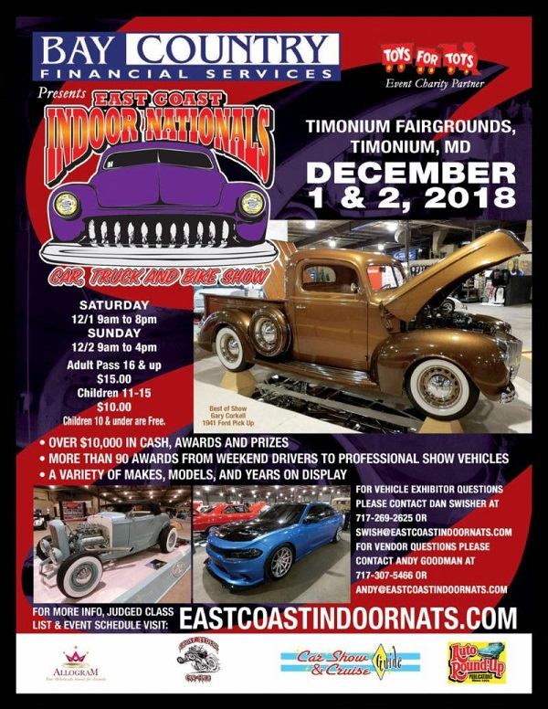 East Coast Indoor Nationals Car Truck Bike Show Hotrod Hotline - East coast car shows