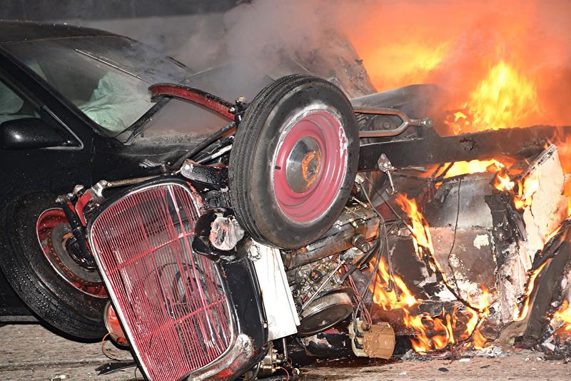 Muscle Car Crash Photos