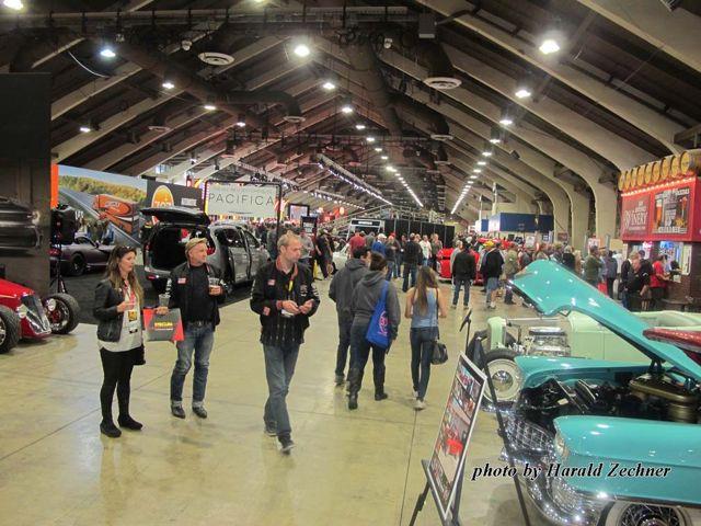 Pomona Mecum Auction Results Hotrod Hotline - Car show display barriers