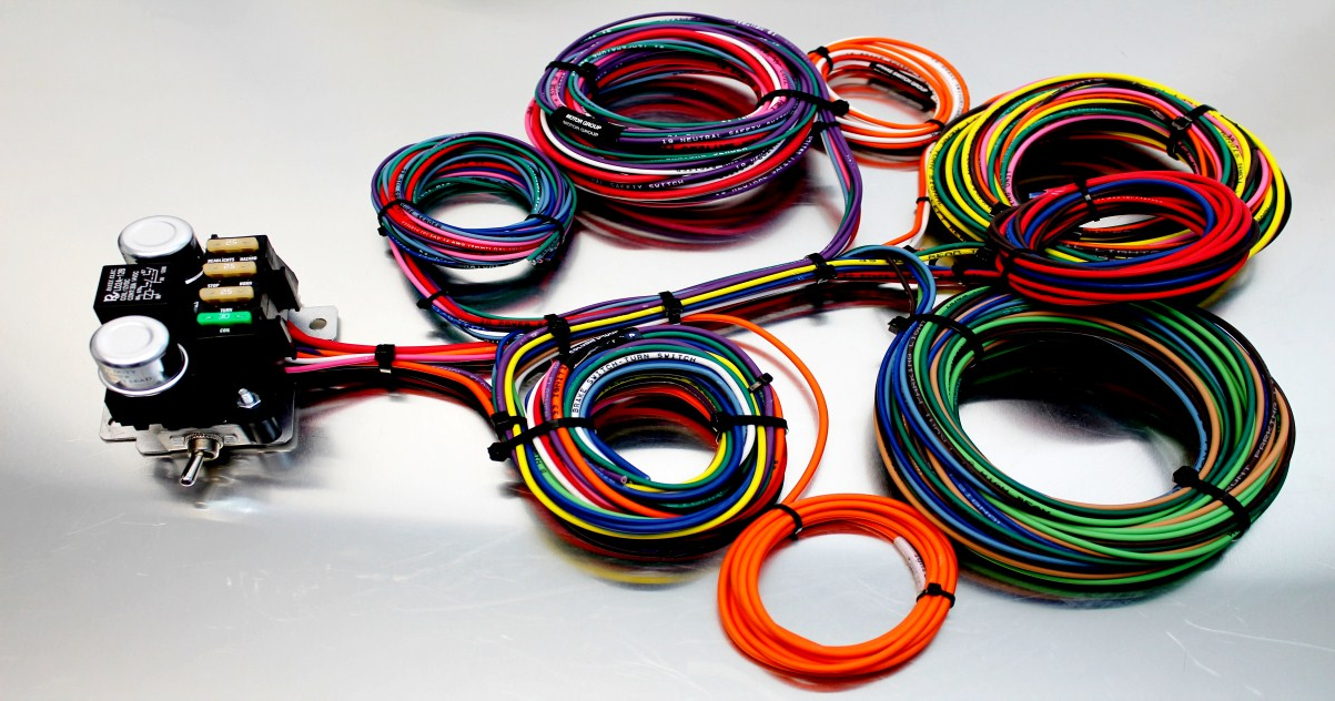 kwik wire - electrify your ride | hotrod hotline vintage air wiring harness kwik wiring harness