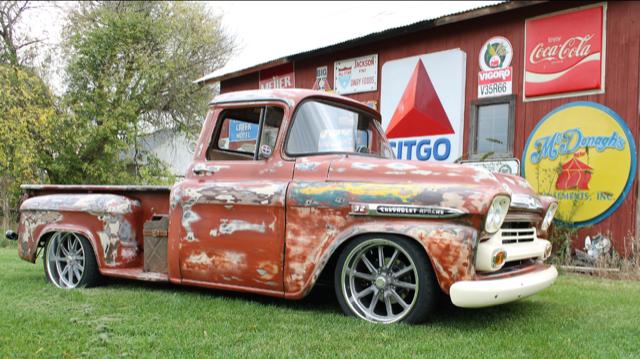 Bens 1959 Chevy Apache Restomod Hotrod Hotline