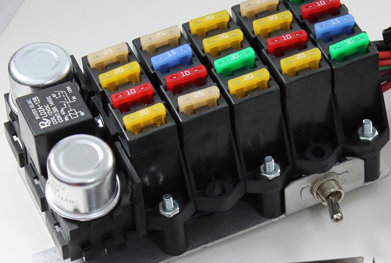 Wiring Fuse Box Automotive : Kwik wire electrify your ride hotrod hotline