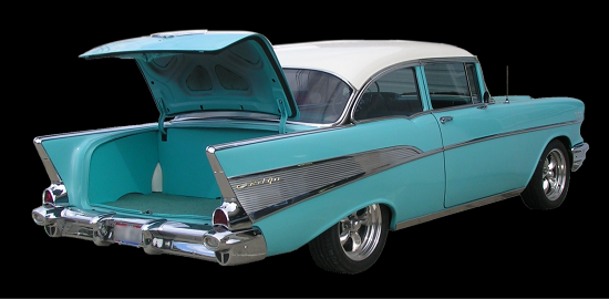 Shiny-Hiney Custom Trunk Panels 1955-56-57 Chevy Trunk ...