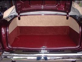 Shiny Hiney Custom Trunk Panels 1955 56 57 Chevy Trunk