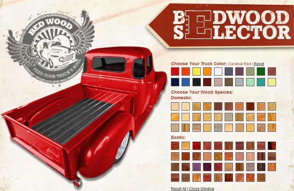 Best Truck Bed Liner >> Bed Wood Visualizer | Hotrod Hotline