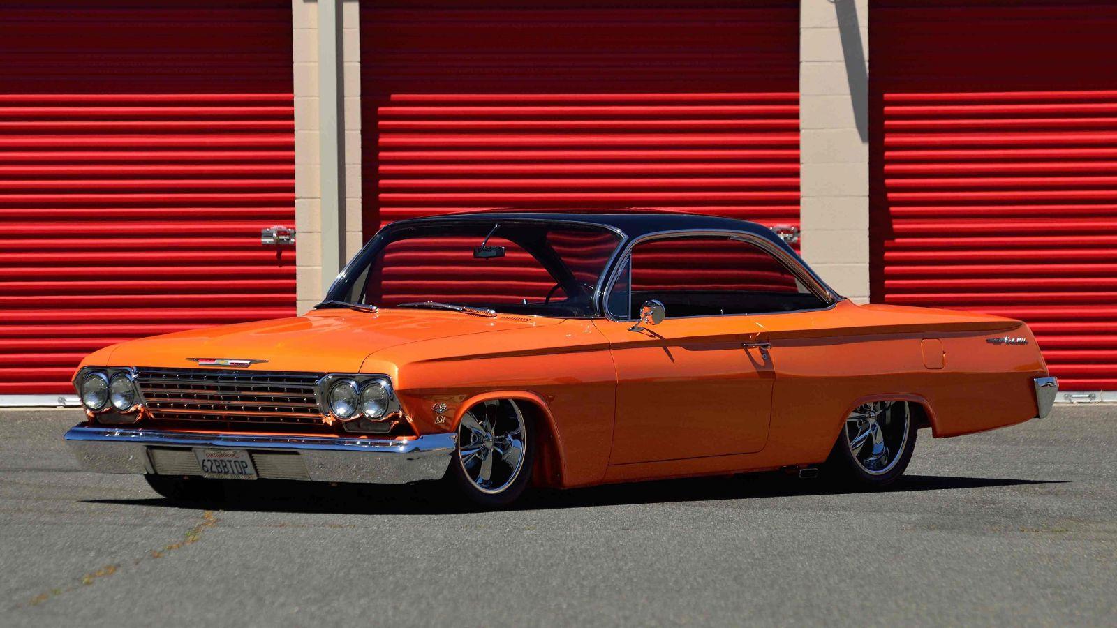 62 Bel Air Resto Mod in Anaheim for Mecum Auction | Hotrod Hotline