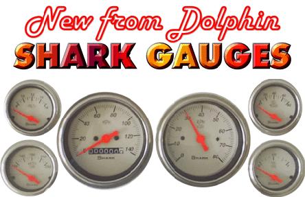 Dolphin Gauges Shark Gauges Hotrod Hotline