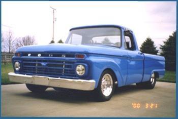 Merle Ward's 1966 Ford F100 Pickup | Hotrod Hotline