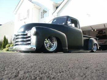 Brad Tilley 53 Chevy 5 Window Pickup Hotrod Hotline