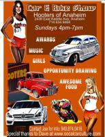 Anaheim Hooters Car and Bike Show0