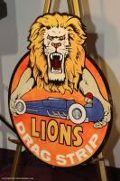 Fuckin yeah lions drag strip logo