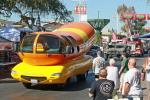 The parade also included an Army Humvee and the Wienermobile.