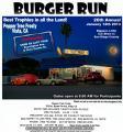 """26th Annual """"BURGER RUN""""0"""