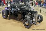 With I,000 miles on it, Gordon and Caroline Gray from Surrey, British Columbia, Canada drive their H&H flathead powered traditional hot rod '32 Ford roadster.