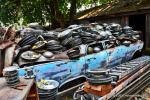 Big M Antique Auto Dismantling 10th annul Pig BBQ 73