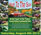 "Carmel Valley Kiwanis Foundation ""Run to the Sun"" Car Show0"