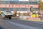 SUPER STOCK – Justin Lamb (far lane), Chevy Cobalt, 8.638sec, 153.23mph def. Timothy Fletcher, Camaro, 10.375sec, 120.43mph.