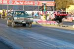 STOCK ELIMINATOR – Jerry Emmons (far lane), Chevy Camaro, 10.170sec, 119.87mph def. Justin Jerome, Plymouth Duster, 10.985sec, 119.38mph.