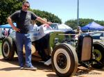 The Best Street Road trophy went Zack Norman's 1932 Cadillac powered hotrod, which featured all WWII aircraft instruments. Zack also built a Bonneville Record-holding electric powered motorcycle.