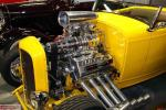 "Matt says his Blown Arias powered '32 Ford Roadster is  ""a handful to drive""."