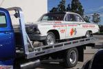 "Outside on a restored flatbed was a recreation of ""Dyno"" Don Nicholson's '62 Che"