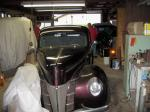 '40 deluxe with Chevy running gear, 350 / auto / AC.  ED got a wild hair and bou