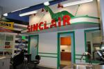 Gotta have a gas station, right? Well, mine is Sinclair. When I was a kid, there