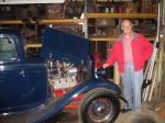 ED, got his first Hotrod Ford at 15. Now 80 and slowing down.