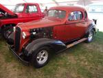 '36 Chevy with slide-in pickup box in trunk did not meet reserve price.