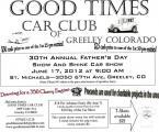 Good Times Car Club's 30th Annual Show & Shine0