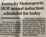 Kentucky Motorsports Hall of Fame Induction Ceremony 20183