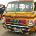 """Sweet Dreams"" is a delicious looking, 318ci powered '67 Dodge window van. Check out the wild wooly interior!"