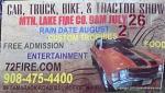 MOUNTAIN LAKE FIRE CO CAR. TRUCK, BIKE & TRACTOR SHOW1